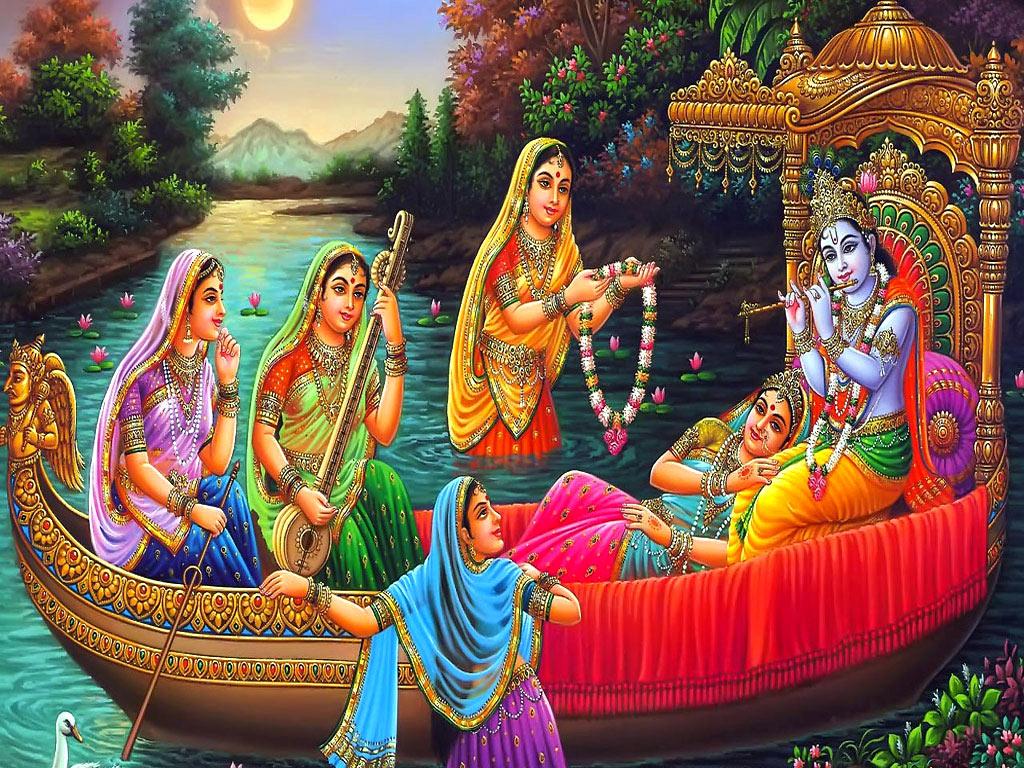 FREE God Wallpaper: Radha Krishna Desktop Wallpaper