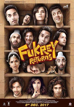 Fukrey Returns 2017 Full Hindi Movie Download HDRip 720p ESub
