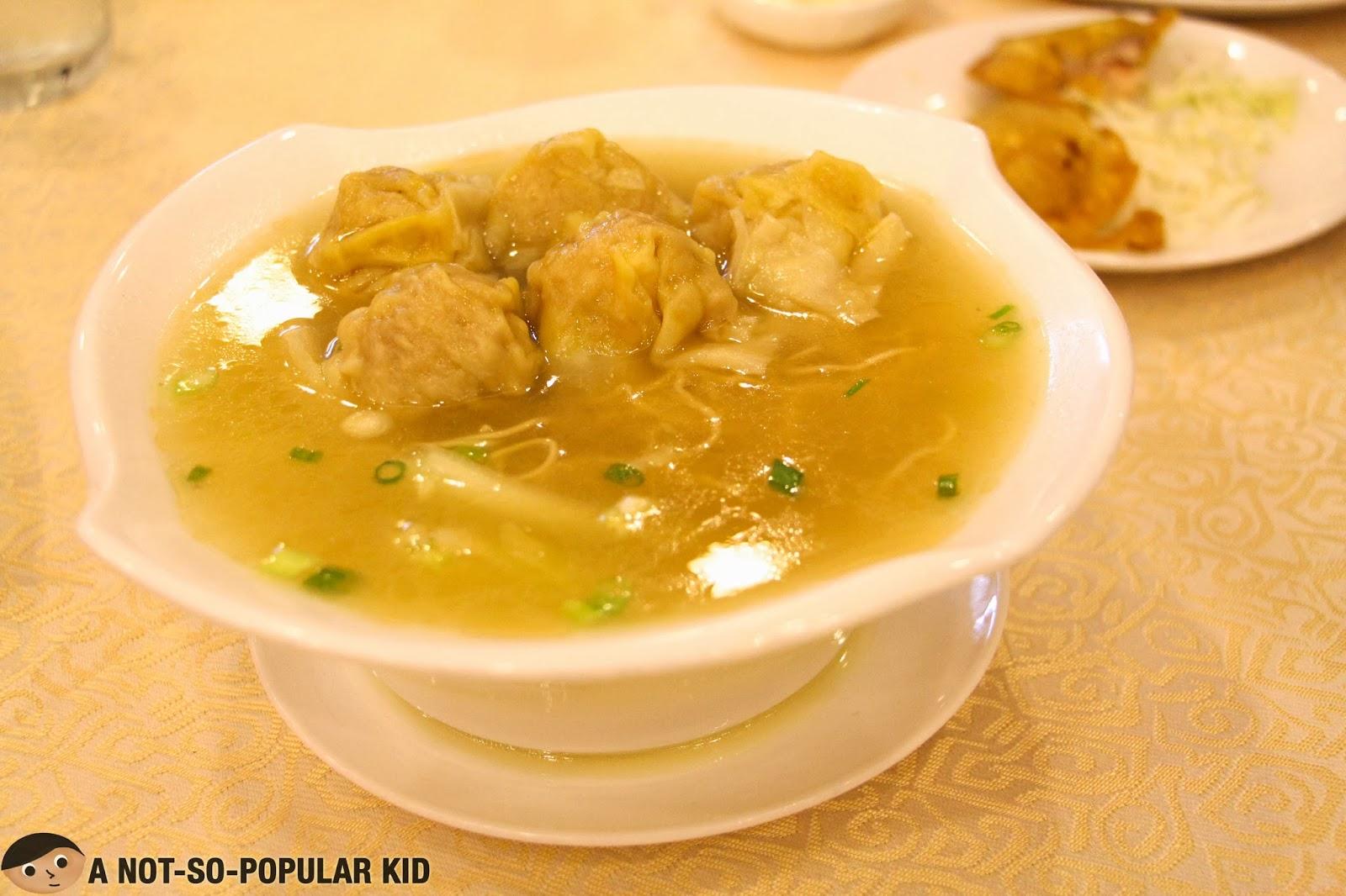 Wanton Soup Noodle of Golden Fortune