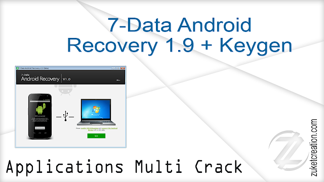 7-Data Android Recovery 1.9 + Keygen   |  2,49 MB