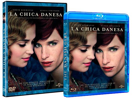 A la venta en Blu-ray y DVD de 'La chica danesa'
