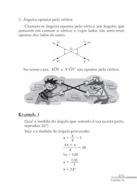 Ângulos geometria