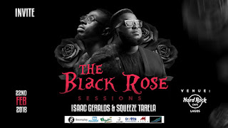 "UPCOMING: THE BLACK ROSE SESSIONS"" CONCERT AT HARD ROCK CAFE"