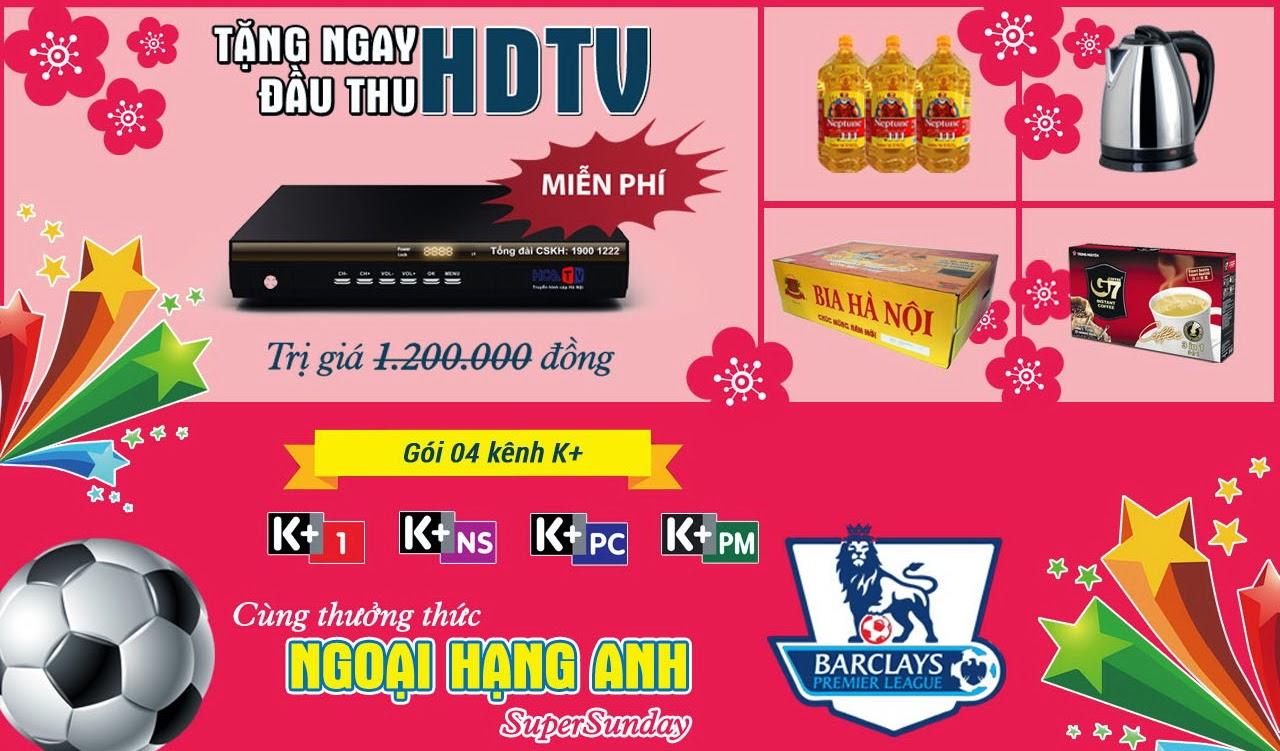 Khuyến mại truyền hình cáp Hà Nội