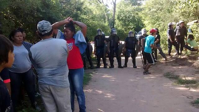 Represión y prisión a integrantes de una Comunidad Guaraní en Salta