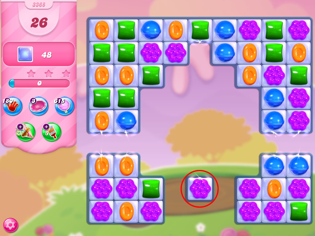 Candy Crush Saga level 3368