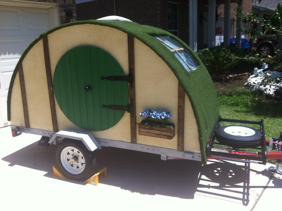 6 Person Teardrop Camper Trailer Interior