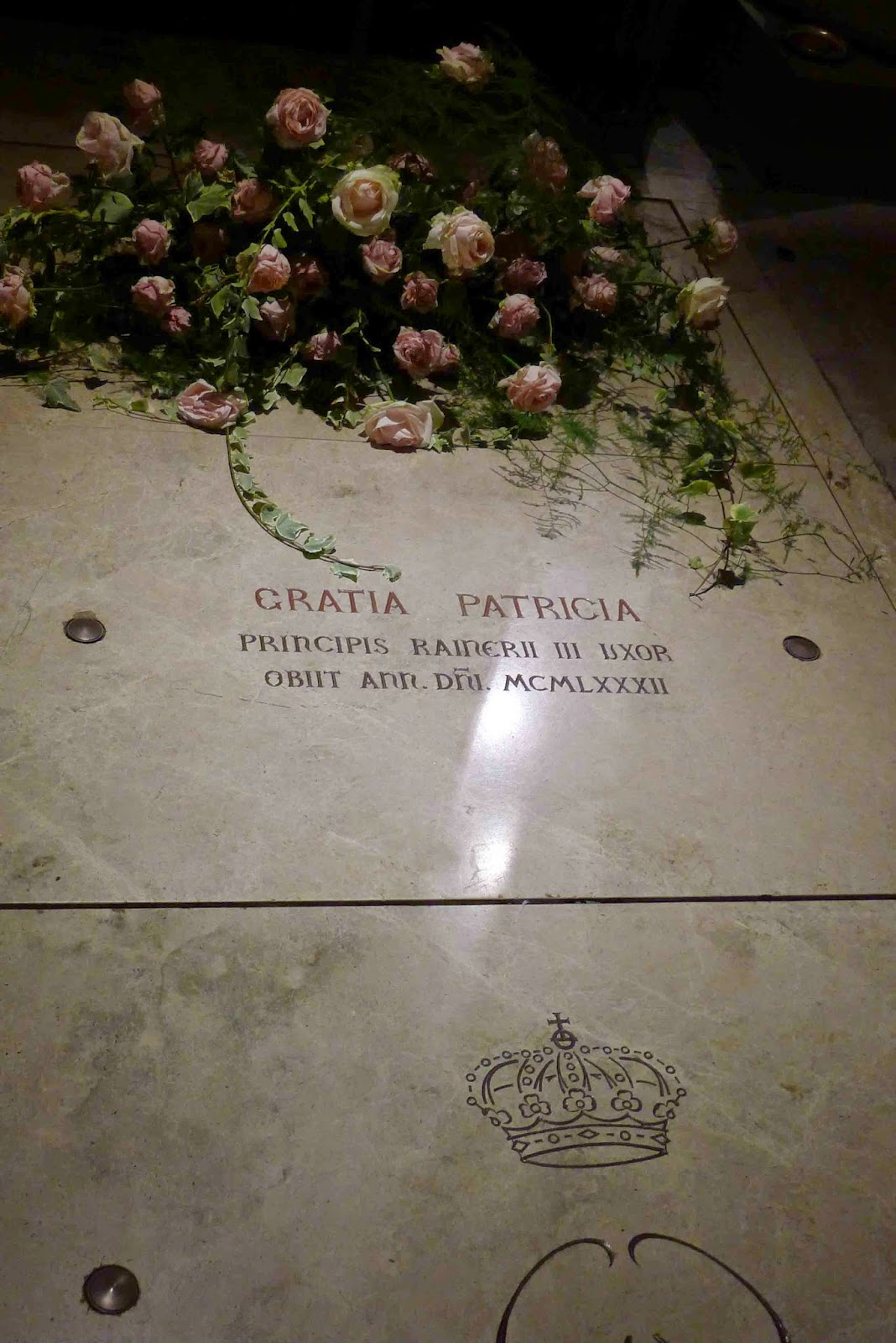 Princess Grace Tomb
