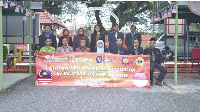 LAWATAN DELEGASI MIGAS RIAU INDONESIA
