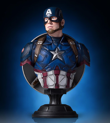 Captain America: Civil War Captain America Classic Marvel Mini Bust by Gentle Giant