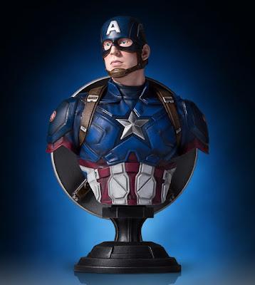 Captain America: Civil War Captain America Classic Marvel Mini Bust by Gentle Giant