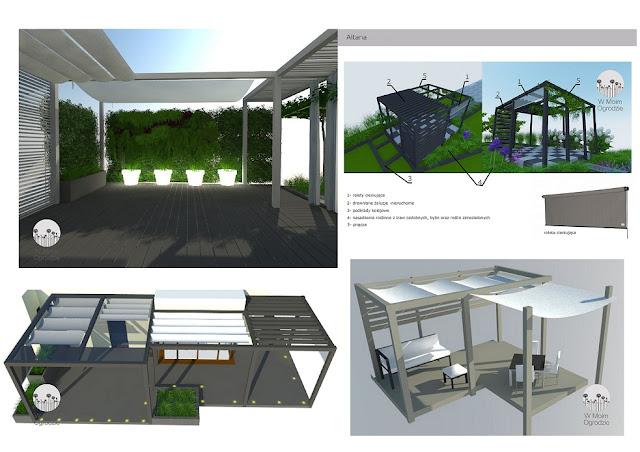 projektowanie nowoczesnych altan