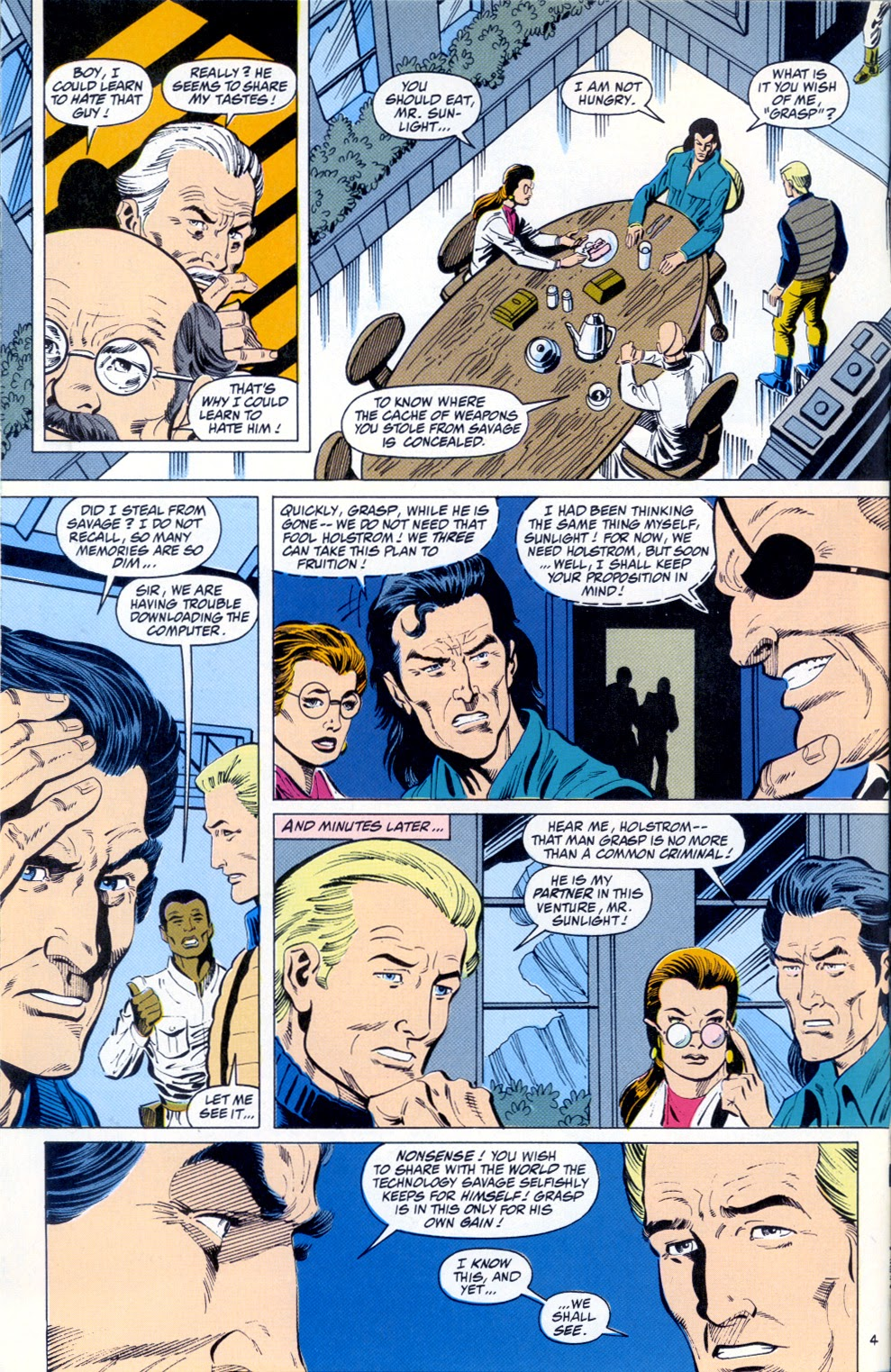 Doc Savage (1988) issue 12 - Page 6