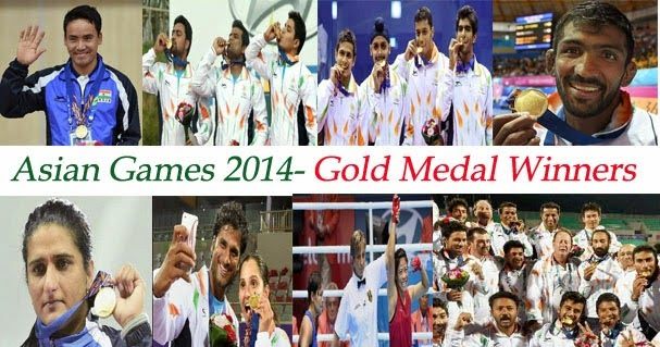 Asian Games Winners List