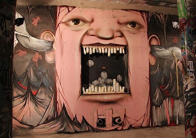 Художник граффити из России, Никита Nomerz 13