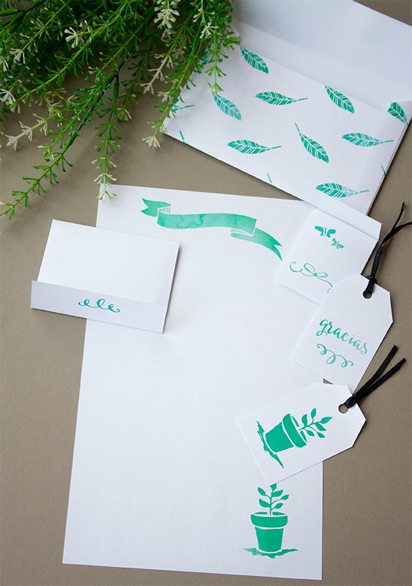 imprimibles snail mail sami garra