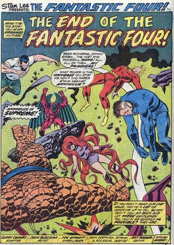 Fantastic Four 141-EndofFantasticFour