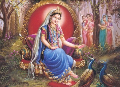 Hindu Goddess radha image