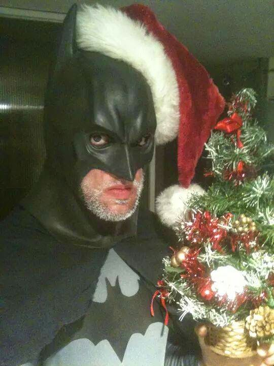 EMC Cosplay - Christmas Batman