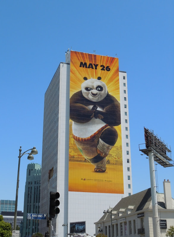 Kung Fu Panda 2 movie billboard
