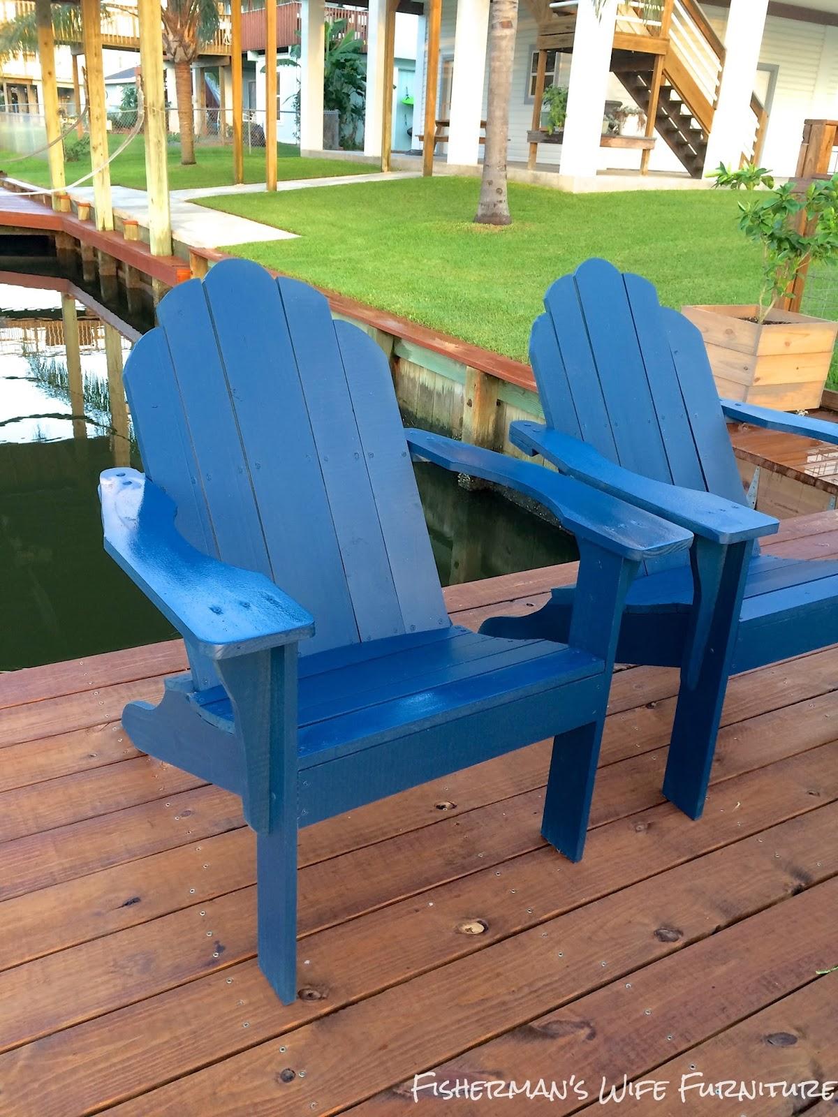Diy Adirondack Chair Kit Posture Fisherman 39s Wife Furniture Chairs