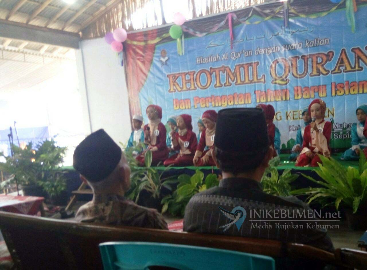 Khotmil Quran TPQ Masjid Agung Kebumen Diikuti 13 Santri