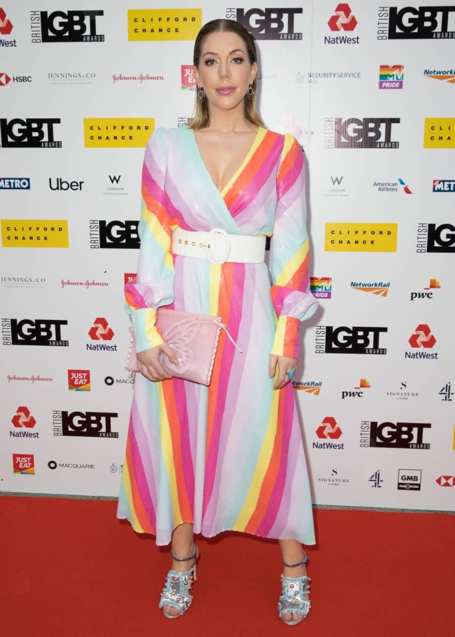 Canadian Actress Katherine Ryan At LGBT Awards in London