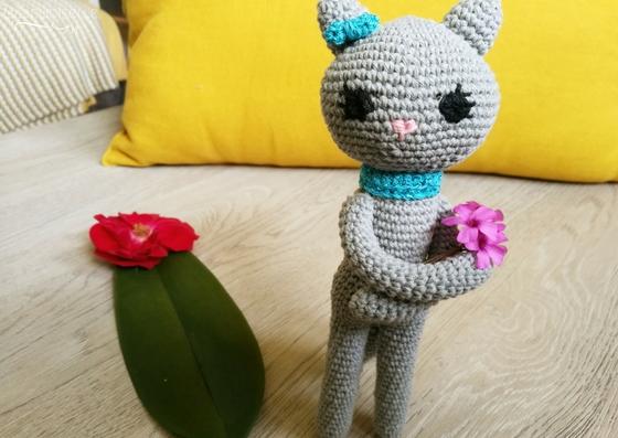 Amigurumi - Tutoriel - Crochet - Miss Chat