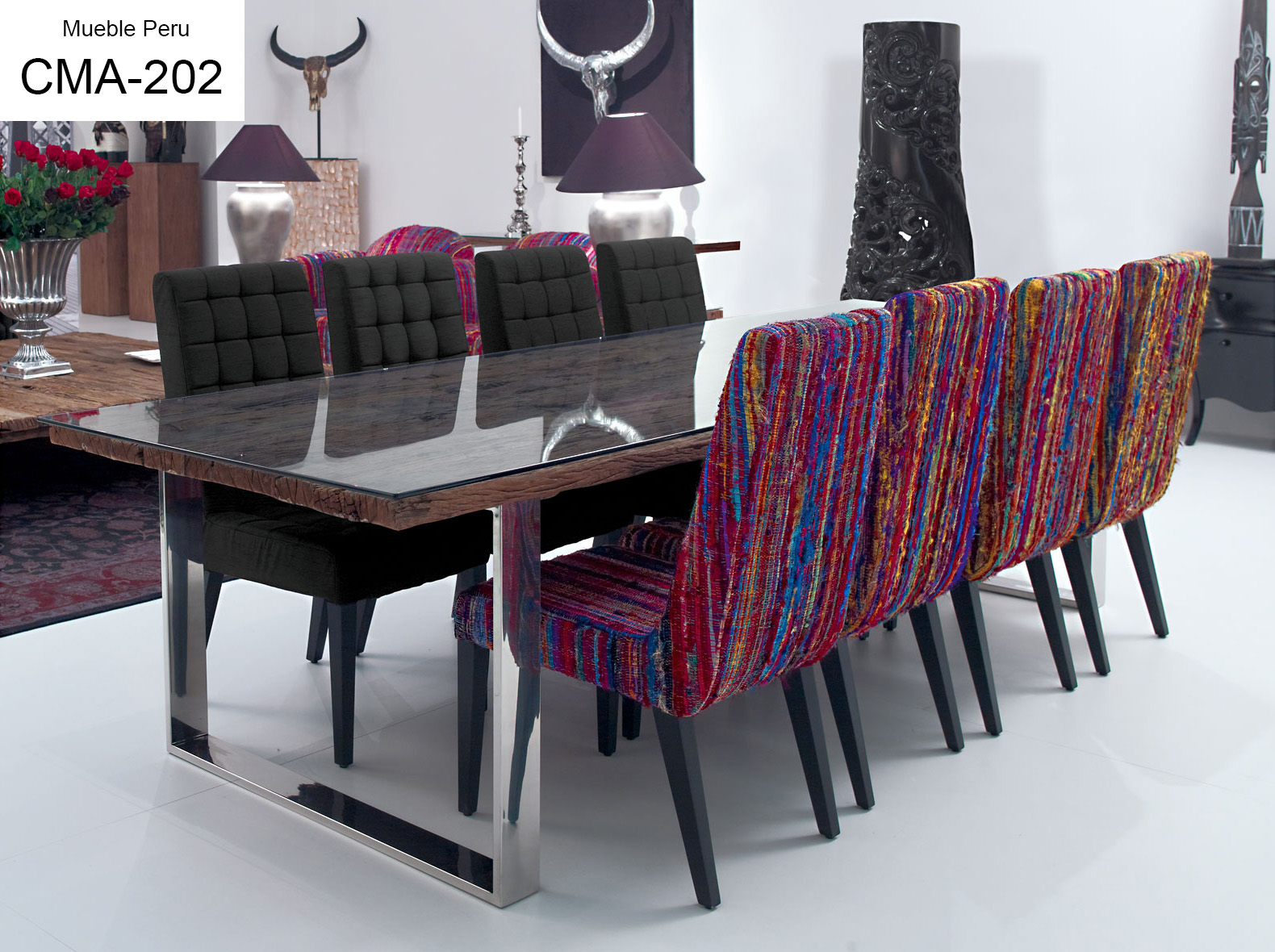 Muebles pegaso modernos muebles de comedor - Muebles modernos para comedor ...