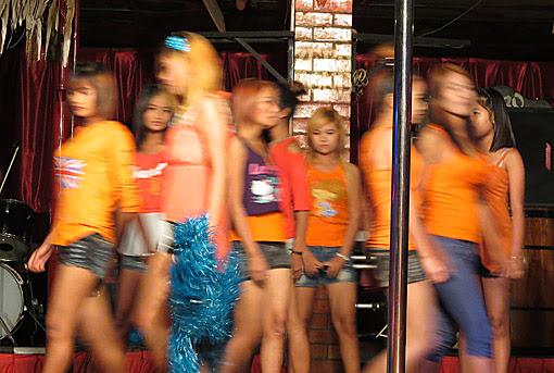 Myanmar model girls photo from Zero Zone Nightclub