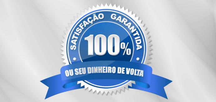 satisfação garantida 100%
