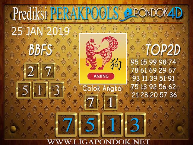Prediksi Togel PERAK PONDOK4D 25 JANUARI 2019
