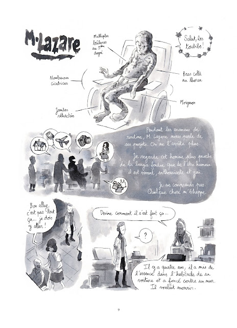 Les mille et une vies des urgences aux éditions Rue de Sèvres page 9