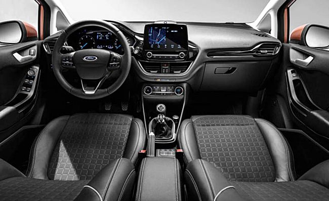 2018 ford fiesta. beautiful fiesta 2018 ford fiesta interior inside ford
