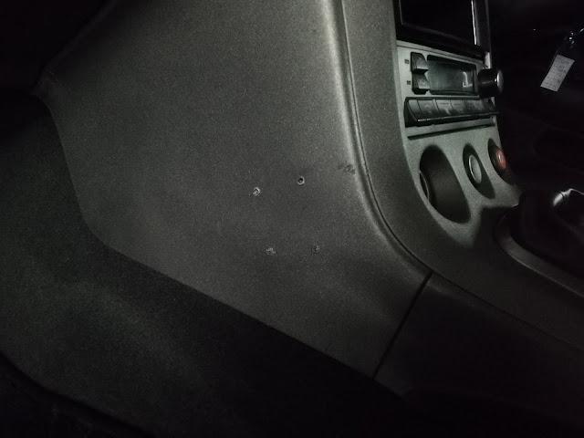 日産/シルビアS13 ダッシュボードのビス穴before 札幌