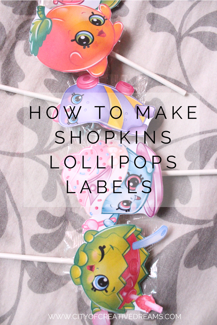 photo relating to Shopkins Checklist Printable named How towards Create Shopkins Lollipops Labels + No cost Printable