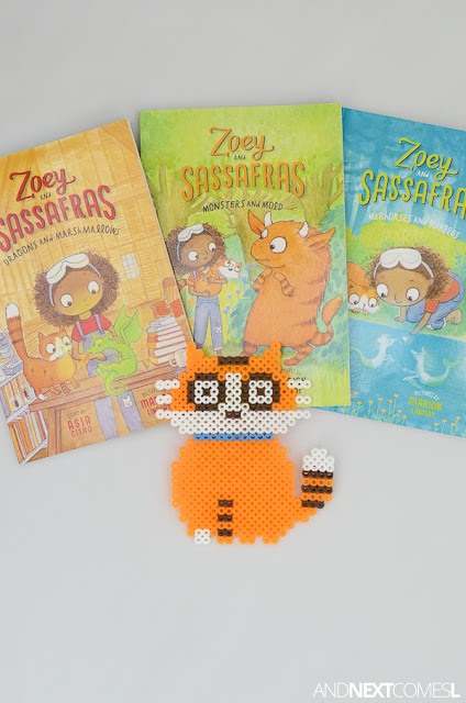 How to make Sassafras the Cat from the books Zoey & Sassafras from And Next Comes L