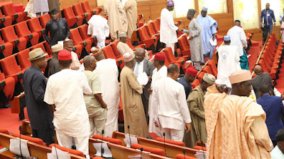 Rowdy Session In Senate Over 'Lopsided Appointments' By Buhari