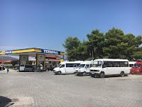 Terminal de bus à Berat