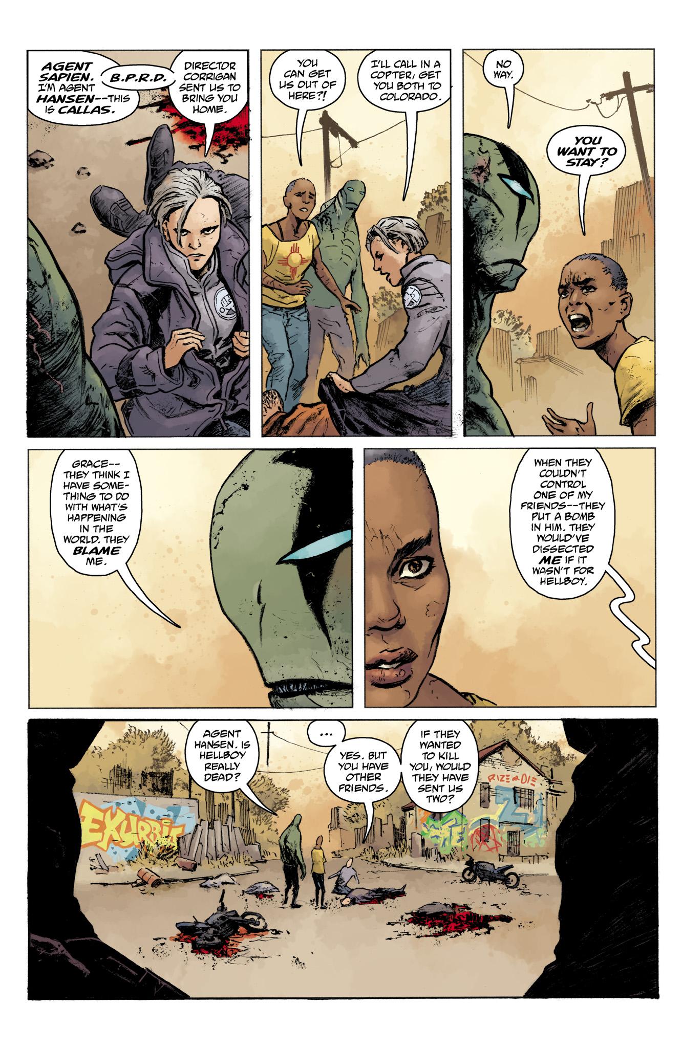 Read online Abe Sapien comic -  Issue #16 - 15