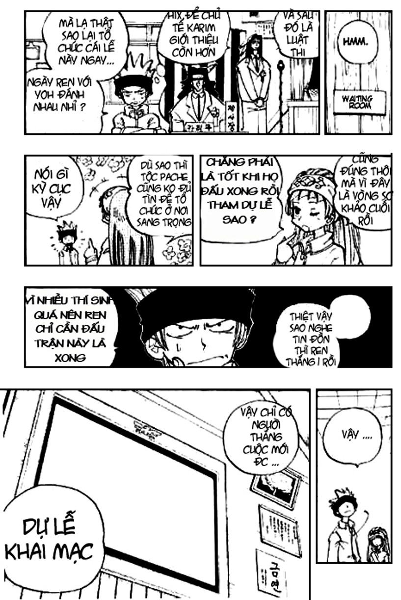 Shaman King [Vua pháp thuật] chap 61 trang 11