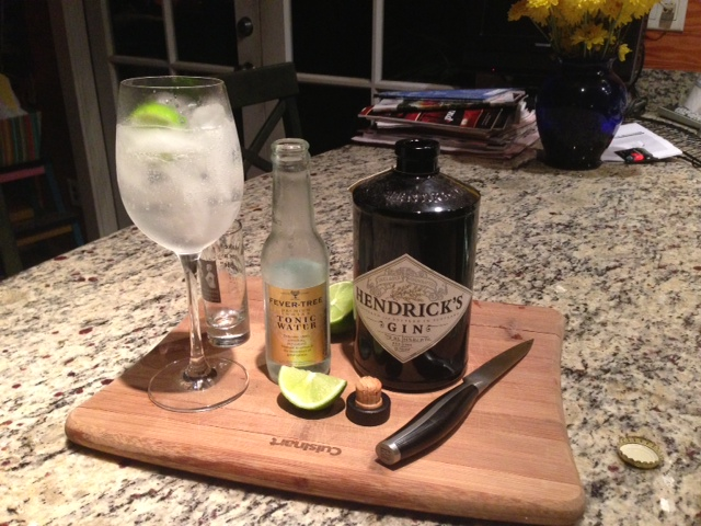 band gin tonic