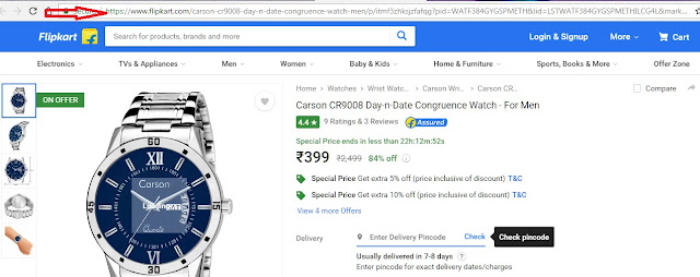 earn from Flipkart Affiliate programme, In the beginning,How to generate Links of any products in Flipkart
