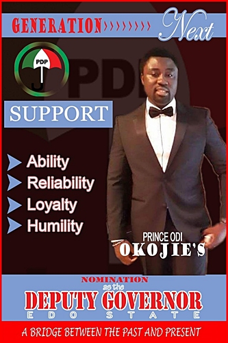 prince odi okojie joins politics