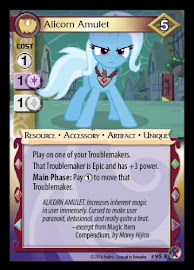 My Little Pony Alicorn Amulet Marks in Time CCG Card