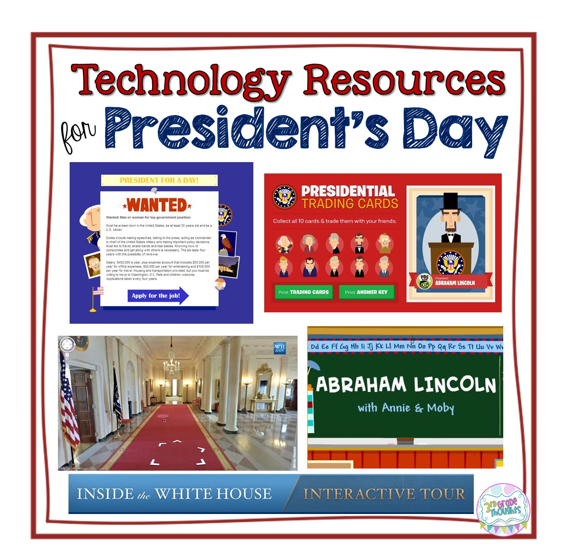 Technology Resources To Celebrate President S Day