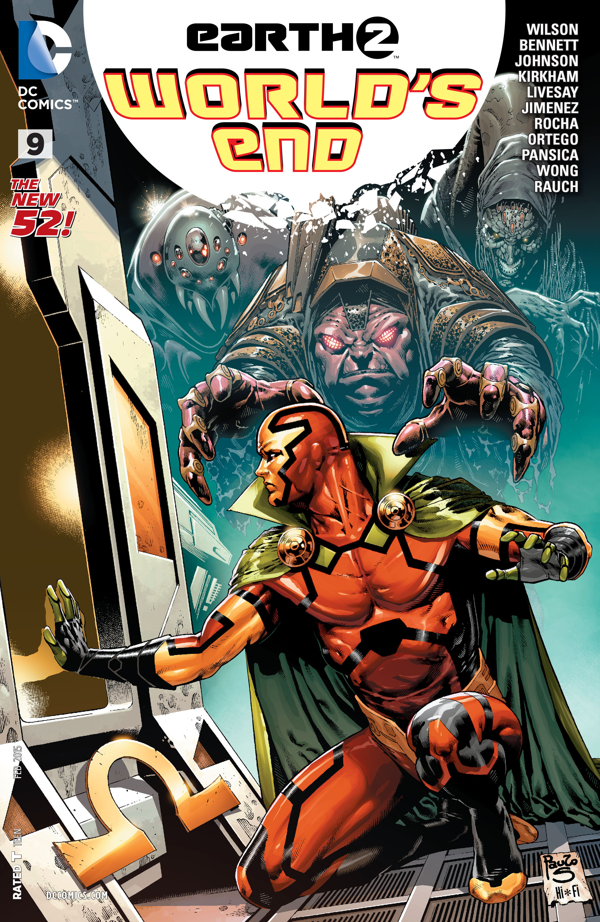 Earth 2: Worlds End 9 Page 1