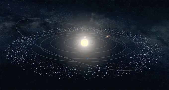 Kuiper Belt dust may be in our atmosphere right now