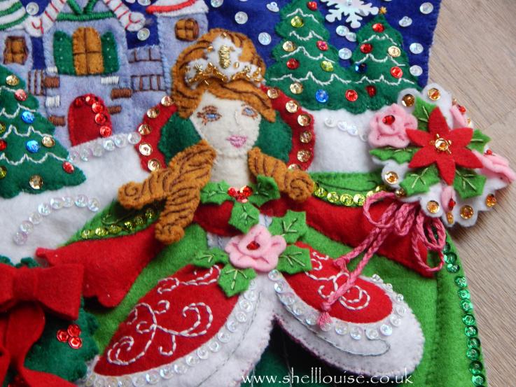 Felt Christmas Tree Skirt Kits