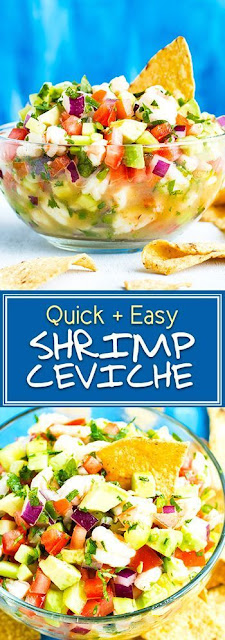 Mexican Shrimp Ceviche with Avocado